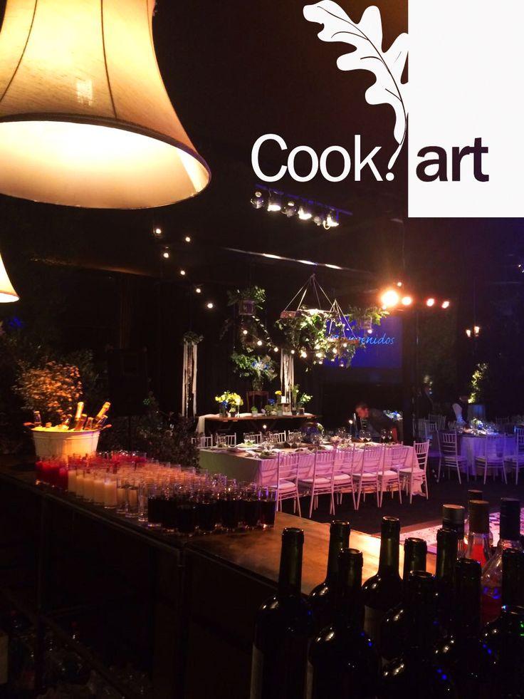 Matrimonio en #casaescondida por #Cookart