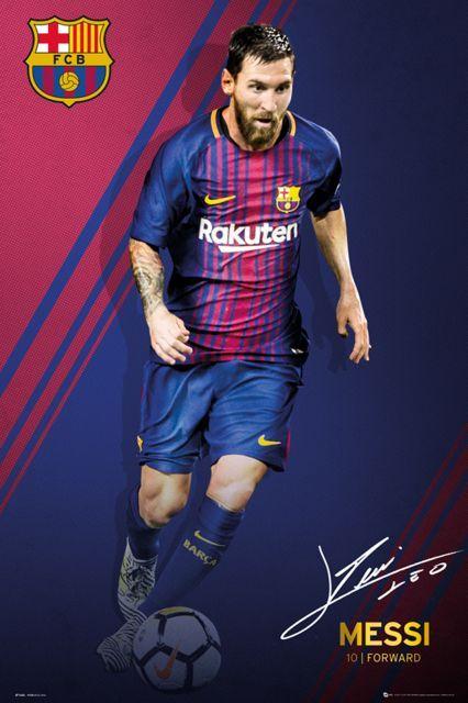 Plakat Barcelona Messi 61x91,5 cm. Gdzie kupić? eplakaty.pl