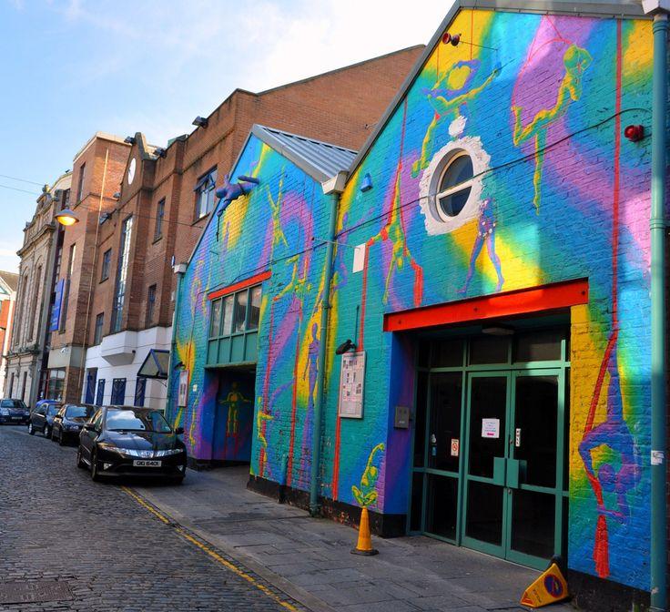 Cathedral quarter Belfast