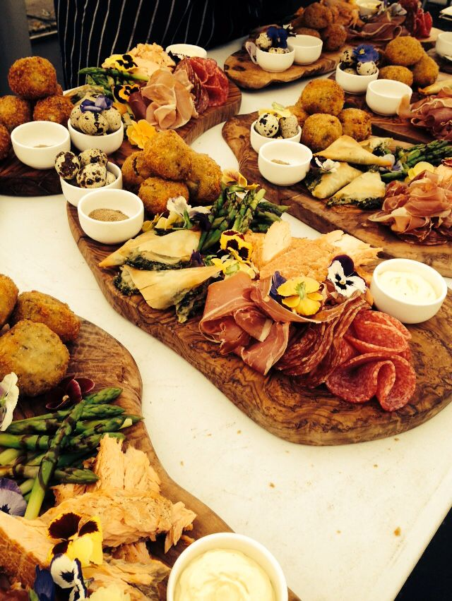 Wedding food, amazing sharing platters from pickledpig