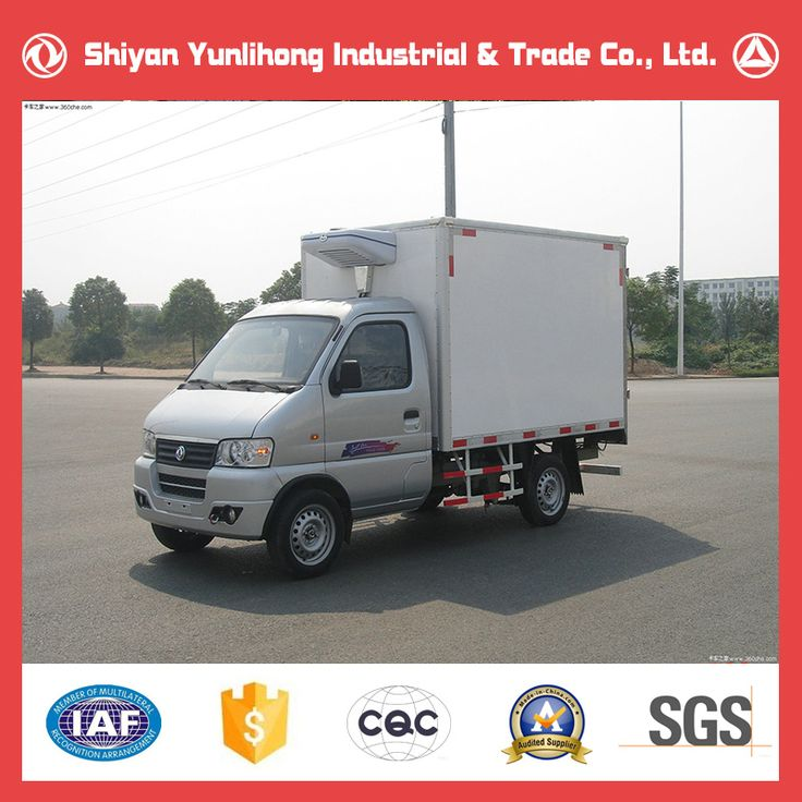 Dongfeng 4x2 1 Ton Small Refrigerated Truck For Sale