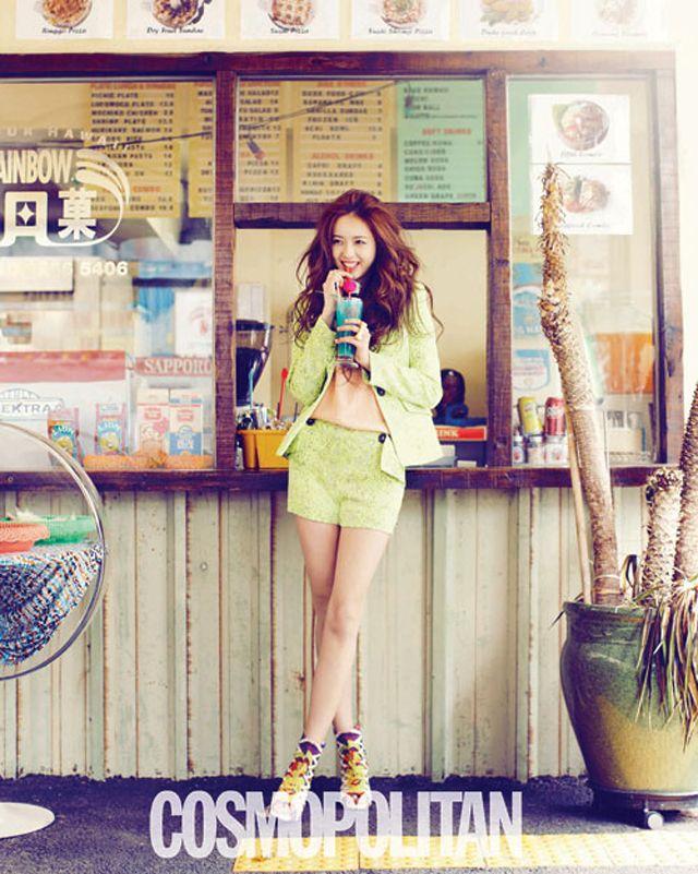 OMONA THEY DIDNT! Endless charms, endless possibilities ♥ - Go Ara, Suzy, Yoo In Na, Seo Hyo Rim, Joo Sang Wook, Kim Hyo Jin, Jo Yoon Hee, ... -Cosmopolitan May