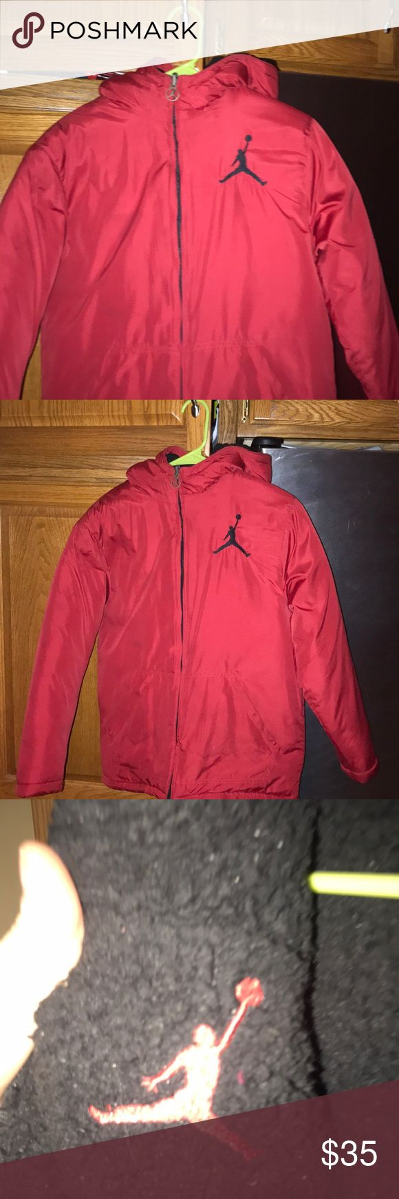 Boys Jordan jacket Boys size 14/16 reversible winter jacket .. some lint balls inside can easily be removed great condition Jordan Jackets & Coats Puffers