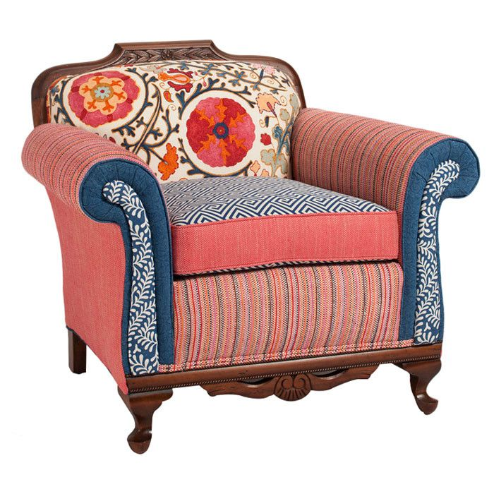Chunky Carved Chair   Eclectic   Chairs   By Salmagundi