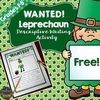 St. Patrick's Day Writing
