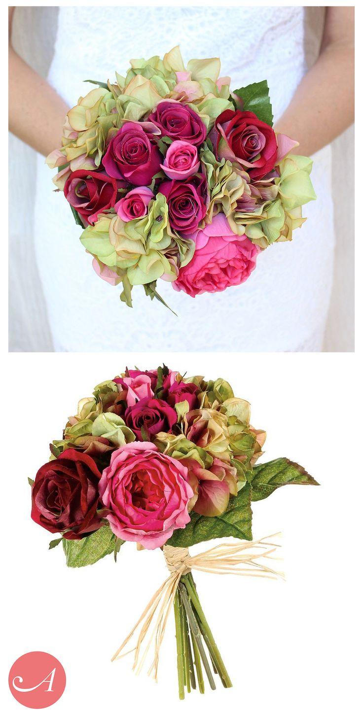 Wedding Flower Bouquets Pictures. Toronto Winter Wedding. Hydrangea ...