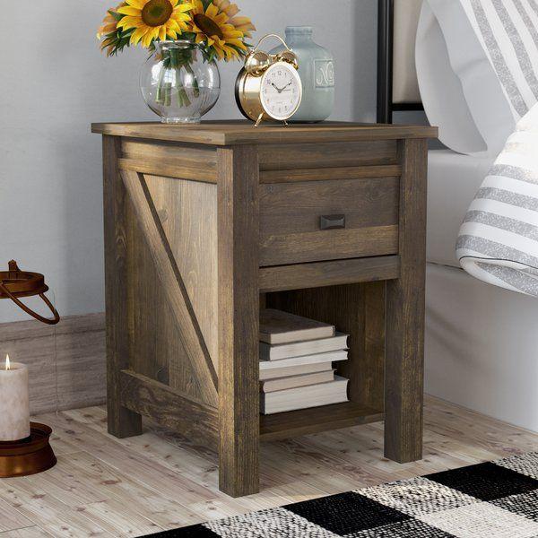 Minchinhampton 1 Drawer Nightstand Furniture Decor Nightstand