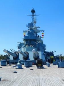 Battleship North Carolina in Wilmington, NC  PullOverandLetMeOut.com