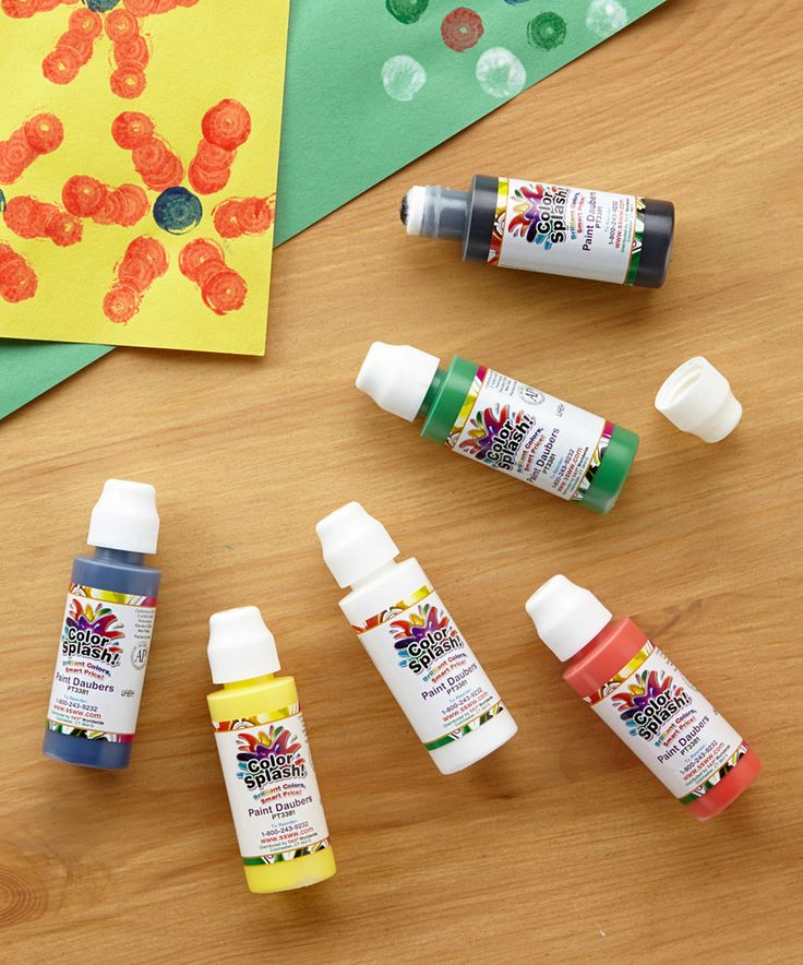 Look at this color splash paint markers set of 48 on