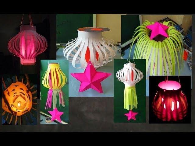 A beautiful Diwali lantern.Diwali craft – Easy way