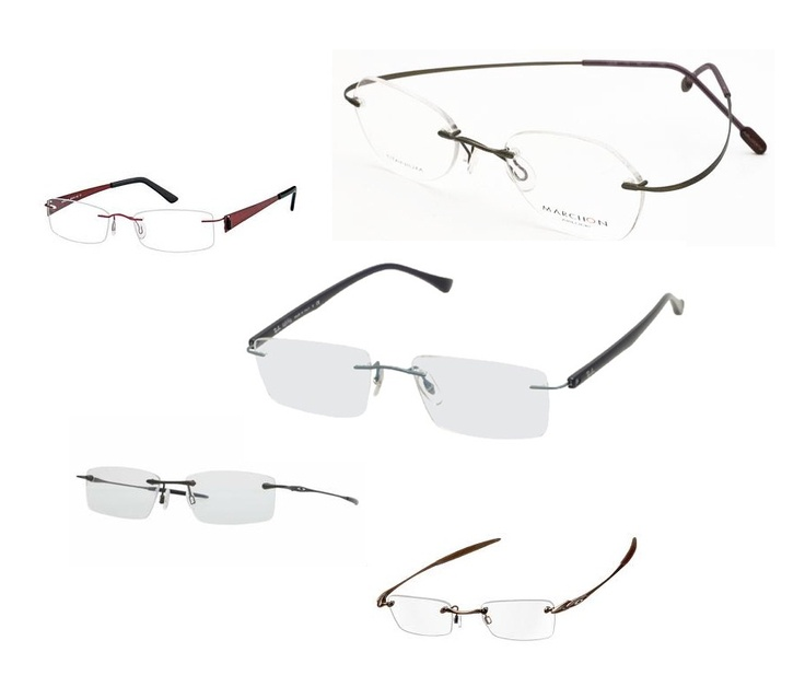 We stock a wide range of rimless glasses. Including