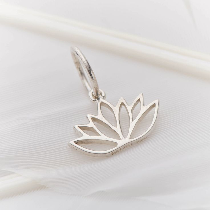 Lotus flower (purity) #3641 available in stores now https://palasjewellery.com.au/stockist-australia/ and online #palasjewellery #love #protection