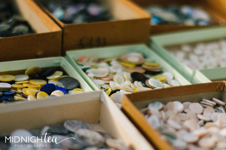 Button, buttons and more vintage buttons!