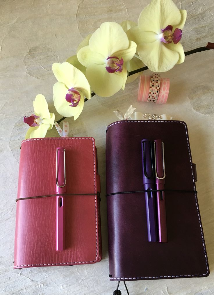 Mr. Darcy sweet pea and violet by Chic Sparrow with matching Lamy fountain pens LuluLimeDesigns.com
