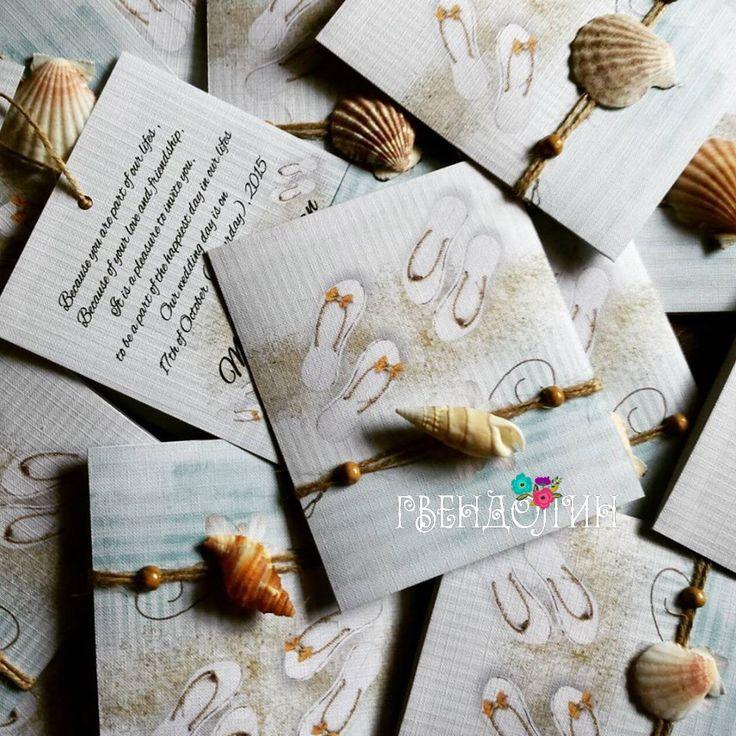 16 best gvendolin handmade wedding invitations images on pinterest beach theme handmade wedding invitation handmade wedding invitationsbeach themesdiy solutioingenieria Gallery