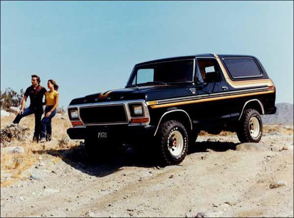 машина ford bronco 1978