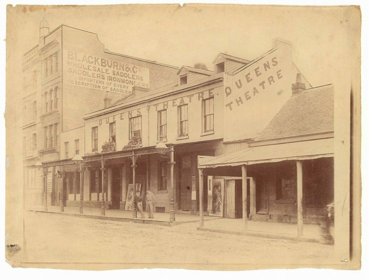 Queens Theatre at 35 York St,Sydney in the 1870s.     SHARE: