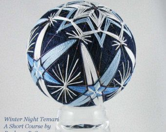 Temari pattern for sale Mema is a Star