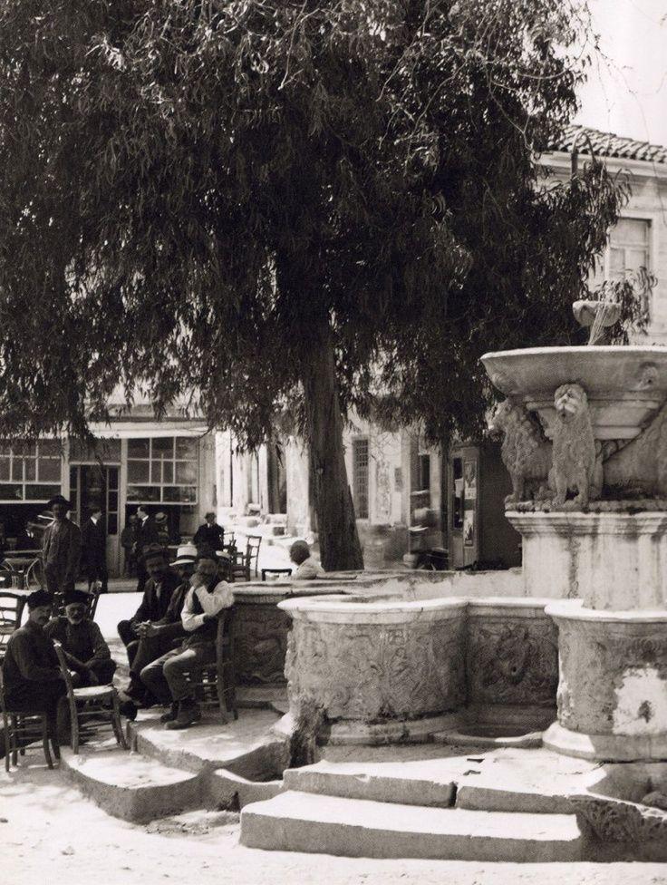 Ηράκλειο, Κρήνη Μοροζίνι. 1920  -  Herakleion 1920