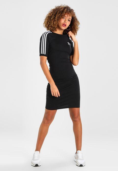 072702655e4 Pedir adidas Originals ADICOLOR THREE STRIPES DRESS - Vestido ligero - black  por 64
