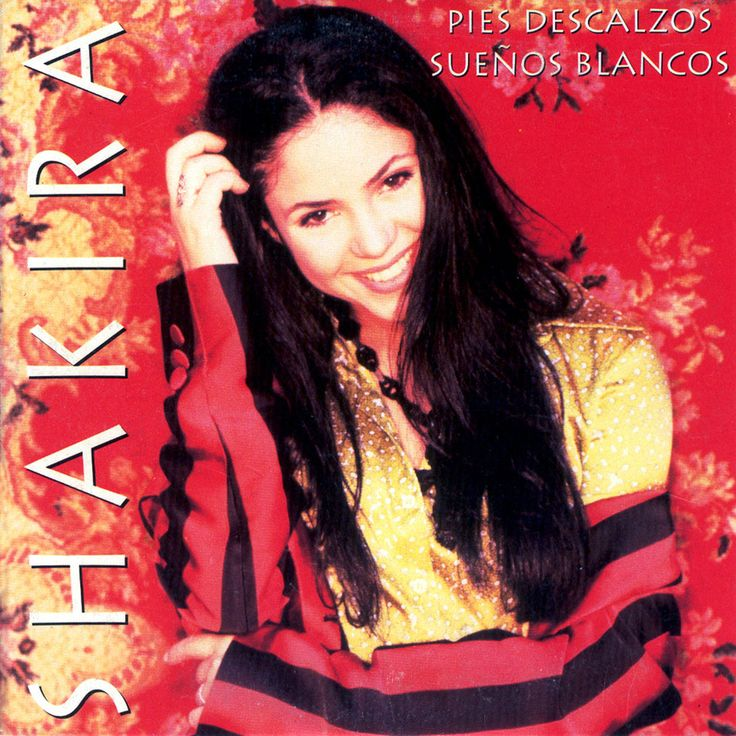 shakira pies descalzos album | Carátula Frontal de Shakira - Pies Descalzos (Cd Single)