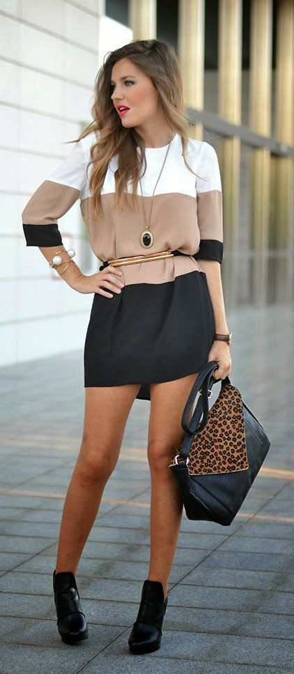 Daily New Fashion : WHITE COFFE BLACK prom