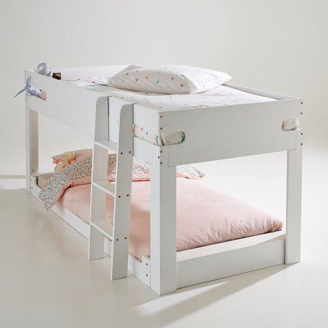 17 meilleures id es propos de lit mi hauteur sur pinterest doubles lits e - Lit superpose mi hauteur ...