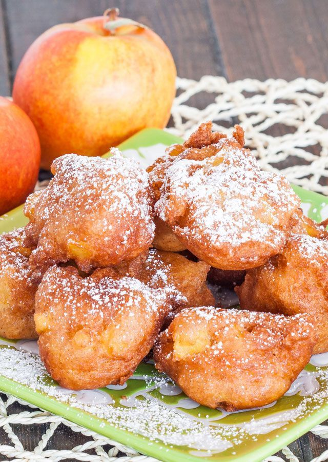 Apple Fritters – these golden deep fried apple fritters are simple and delicious, perfect for when you have a sweet tooth.