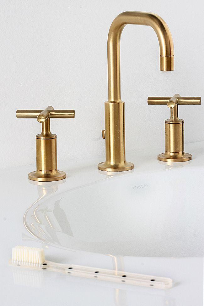 Best 25+ Gold faucet ideas on Pinterest | Gold bathroom ...