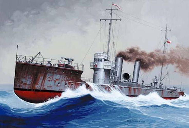 Torpedowiec ORP Kaszub