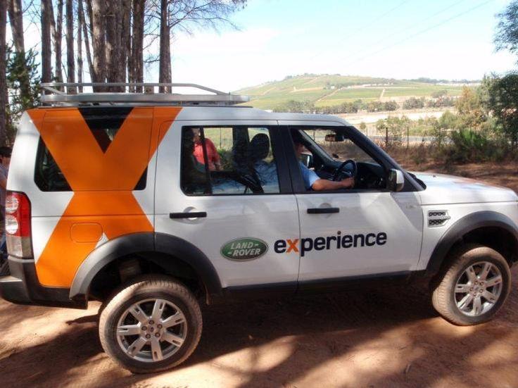 LAND ROVER EXPERIENCE @ Simonsig, Stellenbosch