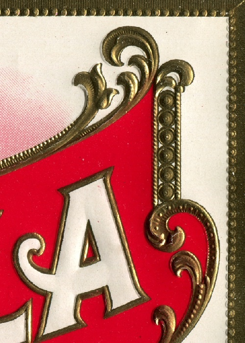 Detail of Aromella cigar package