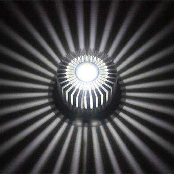 LED 3W bianco / caldo plafoniera in alluminio corridoio balcone ciondolo dispositivo della lampada lampadario bianco