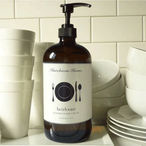 This 1 litre glass bottle looks great by the sink. Dishwashing liquid – Evolution Emptor $33.00.