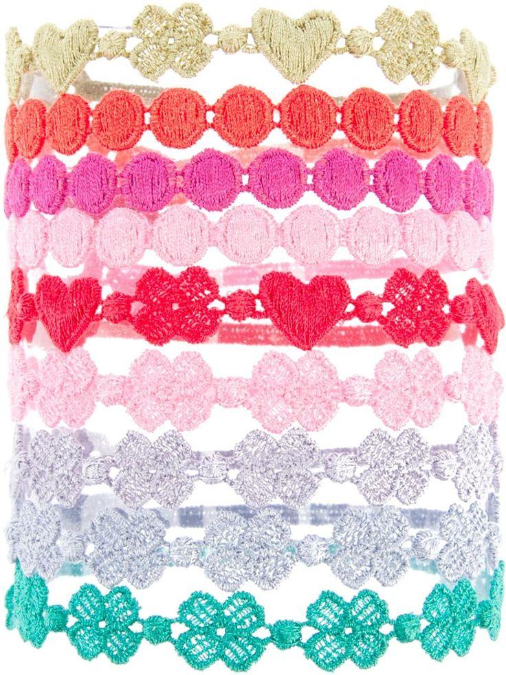 ❦  Cruciani shape bracelets