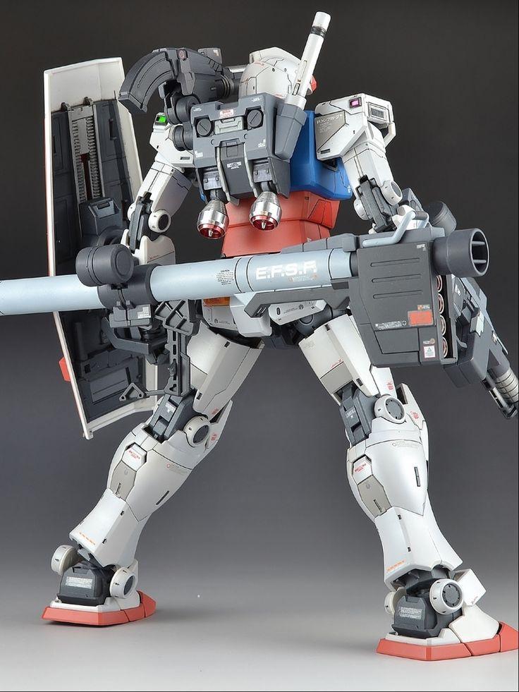 GUNDAM GUY: MG 1/100 RX-78-2 Gundam The Origin - Customized Build