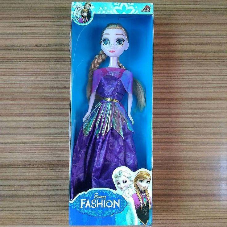 Boneka Anak Frozen Anna Doll Import  Boneka Barbie Disney Import Karakter Frozen Anna. Bahan dan kualitas terbaik. Rambut Frozen panjang halus. Include Box ya  IDR 35.000…
