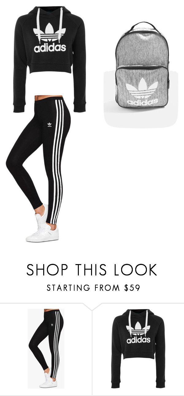 """October 27"" by ottoca ❤ liked on Polyvore featuring adidas Originals and adidas"