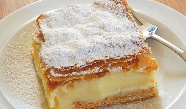 Kremowka Papieska - ate this delicious dessert in Wadowice, Poland - it was said to be a favorite of John Paul II.  I want to try making it one day!