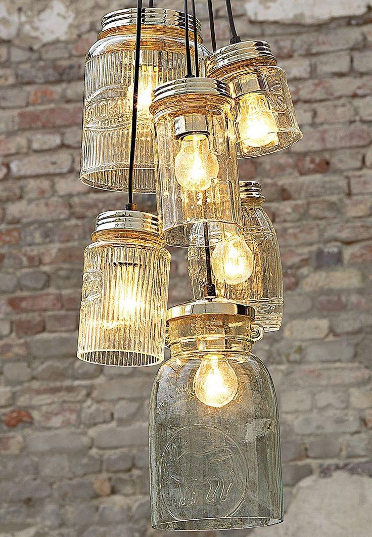 PureDay - GLASGOW - Deckenlampe - transparent