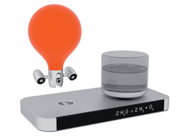 Zipper, une caméra espion sous un mini-ballon dirigeable