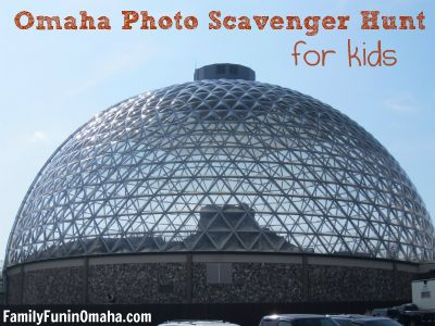 Omaha Photo Scavenger Hunt for Kids |Family Fun in Omaha