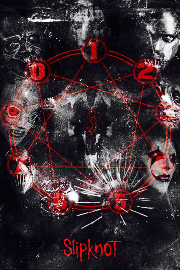 To all the people who thinks slipknot worships satan dooes that only have five points? No it has eight to represent the band members
