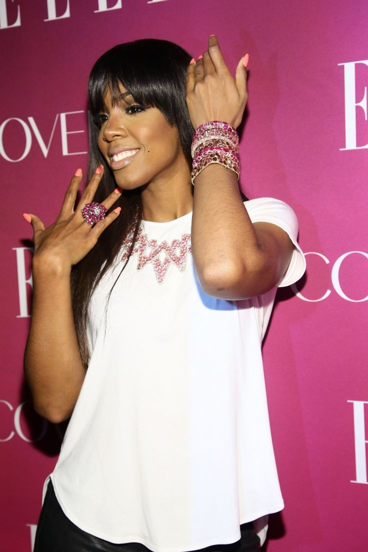 Kelly Rowland | GRAMMY.com: White Shirts, Rowland Attends, Kelly Rowland, Photo