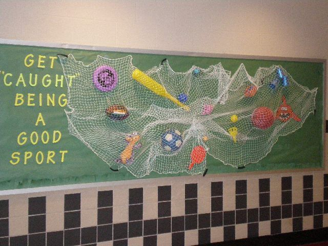 PE Bulletin Board: Get 'Caught' Being a Good Sport