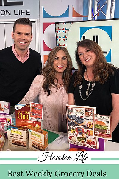 KPRC Channel 2 Houston Life TV segment about this week's best grocery deals