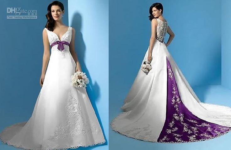 Best 25+ Purple Wedding Dresses Ideas On Pinterest