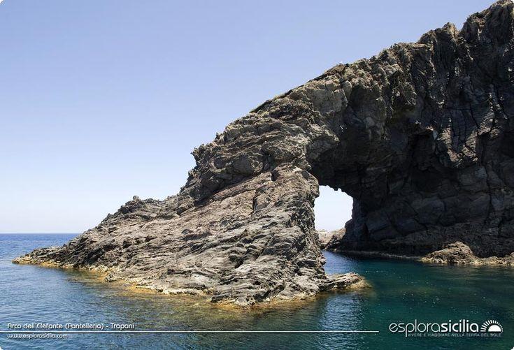 Arco dell'Elefante (Pantelleria) - Trapani