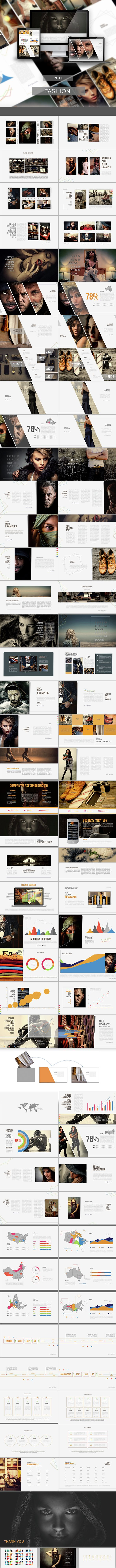 Fashion PowerPoint Presentation  #interactive #modern • Download ➝ https://graphicriver.net/item/fashion-powerpoint-presentation/15143139?ref=pxcr