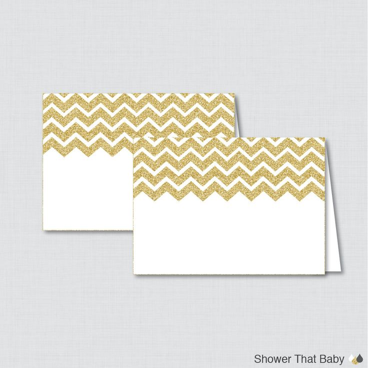 Printable Gold Food Tent Labels Cards or Place Cards - Printable Instant Download - Gold Glitter Chevron Food Tent Cards - Glitter Chevron by ShowerThatBaby on Etsy https://www.etsy.com/listing/234961805/printable-gold-food-tent-labels-cards-or
